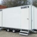 Hochwertiger Toilettenwagen für jeden Anlass