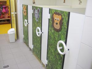 Kita WC Trennwände_Kids_Individuell_Feldmann Trennwand